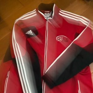 Adidas soccer training jacket - mens XXL